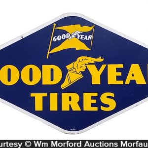 Good Year Tires Porcelain Sign