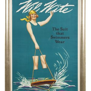 Wil Wite Swimmer Wear Poster