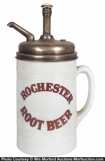 Rochester Root Beer Dispenser
