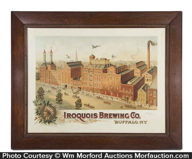 Iroquois Brewing Co. Sign