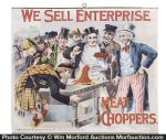 Enterprise Meat Choppers Sign