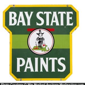 Bay State Paints Sign