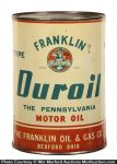 Franklin Duroil Motor Oil Can