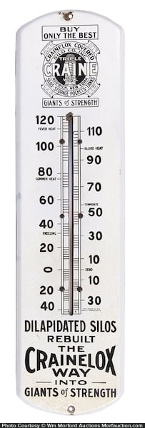 Craine Silos Thermometer
