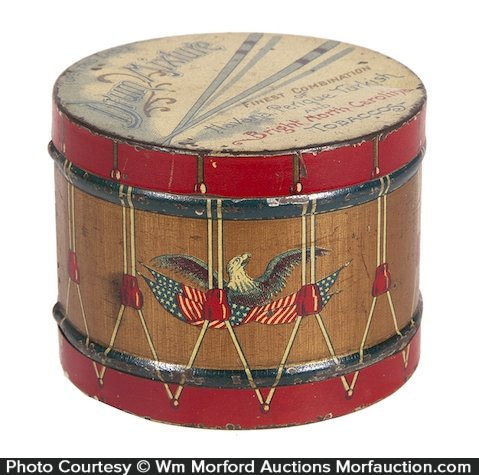 Drum Mixture Tobacco Tin