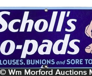 Dr. Scholl's Zino-pads Sign