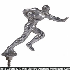 Football Player Hood Ornament