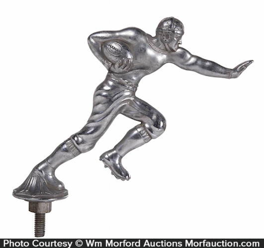 Football Player Hood Ornament