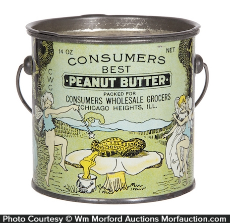 Consumer's Best Peanut Butter Pail