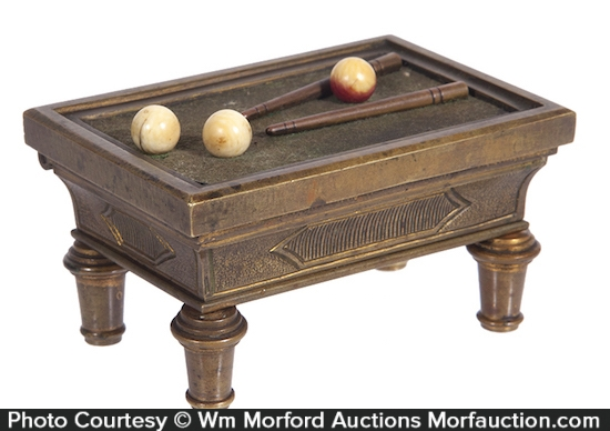 Billiards Table Match Holder