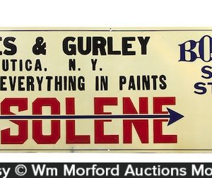 Bowser Gasoline Sign