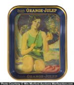 Orange Julep Tray