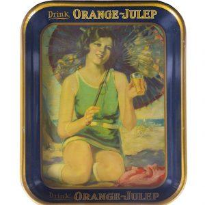 Orange Julep Tray