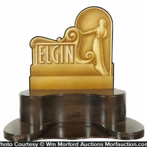 Elgin Watches Display Stand