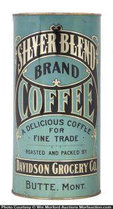 Silver Blend Coffee Tin