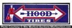Hood Tires Porcelain Sign