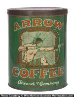 Arrow Coffee Can