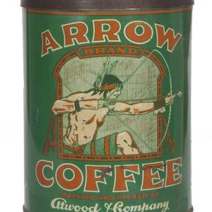 Arrow Coffee Can