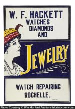 Vintage Jewelry Store Sign