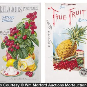 True Fruit Soda Signs
