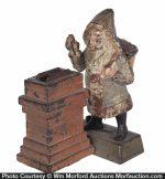 Santa at Chimney Mechanical Bank
