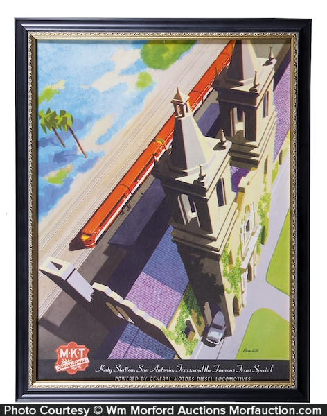 MKT Railroad Poster