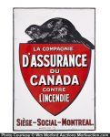 Canadian Fire Insurance Sign