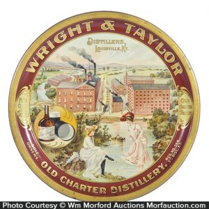 Wright & Taylor Distillery Whiskey Tray