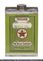 Texaco One Pint Oil Can