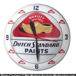 Dutch Standard Paints Clock