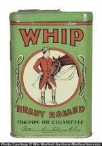 Whip Tobacco Pocket Tin