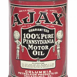 Ajax Motor Oil Can