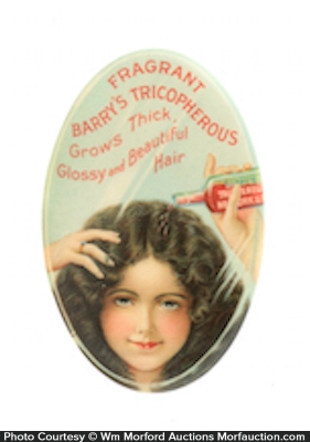 Barry's Tricopherous Hair Grower Mirror