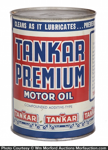 Tankar Premium Motor Oil Can
