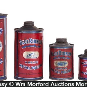 Blue Ribbon Metal Polish Tins