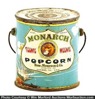 Monarch Teenie Weenie Popcorn Pail