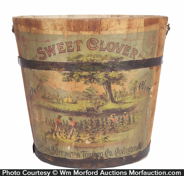 Sweet Clover Tobacco Pail