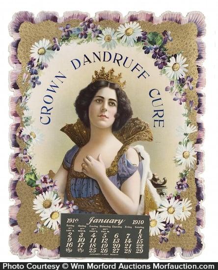 Crown Dandruff Cure Calendar
