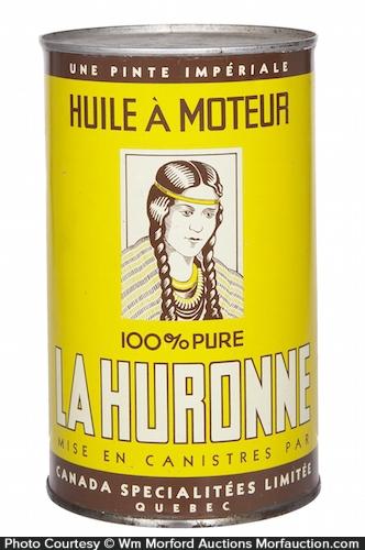 La Huronne Motor Oil Can