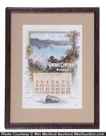 Quebec Central Railway Calendar