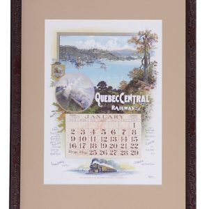 Quebec Central Railway Calendar