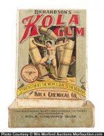 Richardson's Kola Gum Box