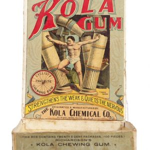 Richardson's Kola Gum Box