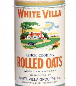 White Villa Oats Box