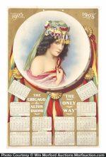 Chicago & Alton Railway Calendar