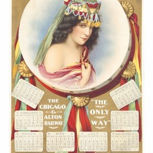 Chicago & Alton Railway Calendar