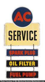 AC Service Station Sign