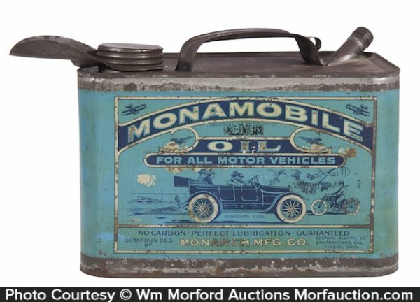 Monamobile Motor Oil Can