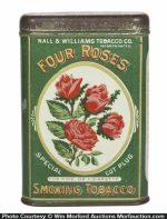 Four Roses Tobacco Tin