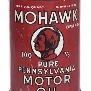Mohawk Motor Oil Can